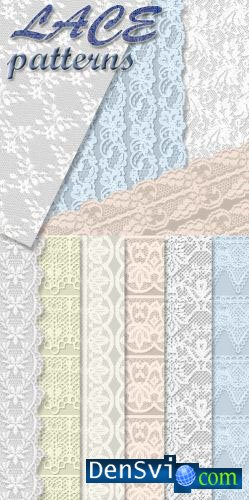Lace Patterns for Photoshop