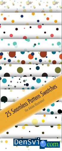 25 Seamless Pattern Swatches