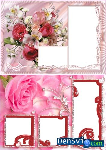 Photoframes with Roses