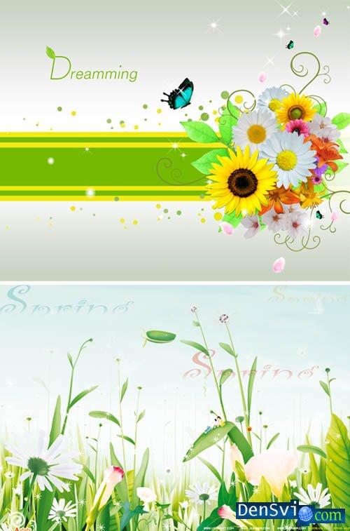 PSD templates - Dreamming Spring