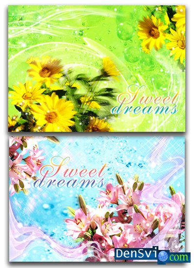 PSD Templates - Sweet Dreams part 4