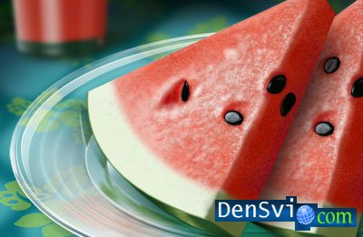 PSD template -  Water-Melon