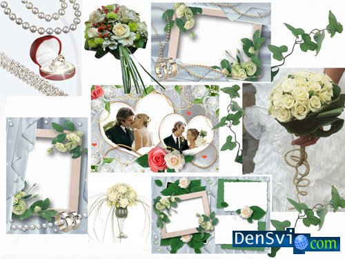 Wedding Photoframes - Wedding in Green