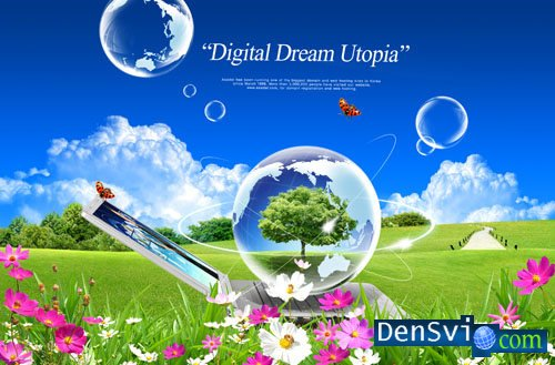 PSD template - Digital Dream - 1