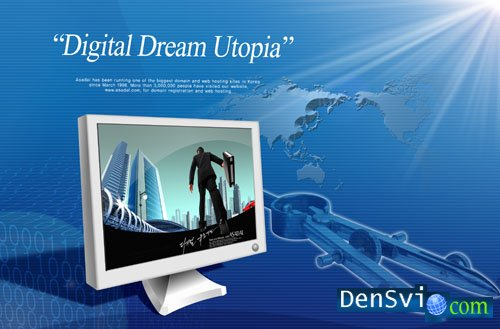 PSD template - Digital Dream - 5