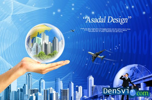 PSD template - Digital Dream - 6