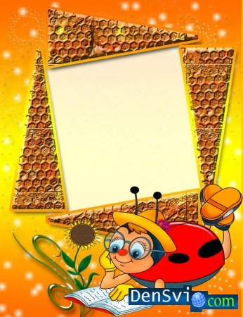 Children Photoframe - The bee