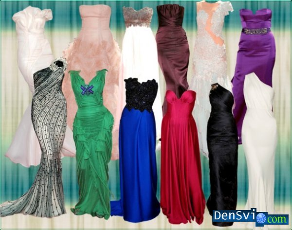 PSD templates - Evening dresses