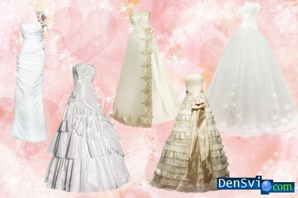 PSD templates  - Wedding and  Evening dresses