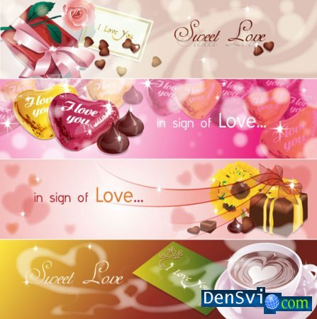 Sign of Love in Vector