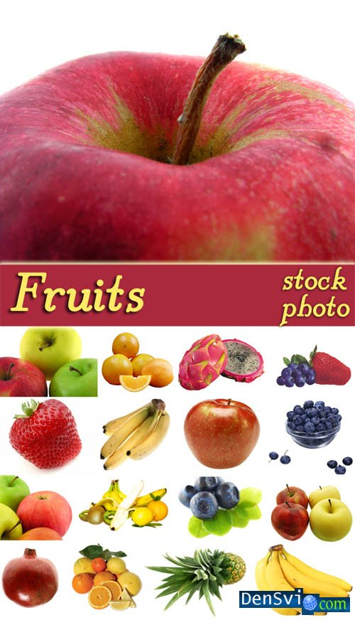 Raster Clipart - Fruits