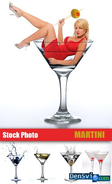 Clipart from Stock Photo - Martini