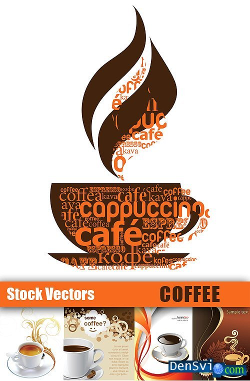 Vector Clipart from Stock - Coffee