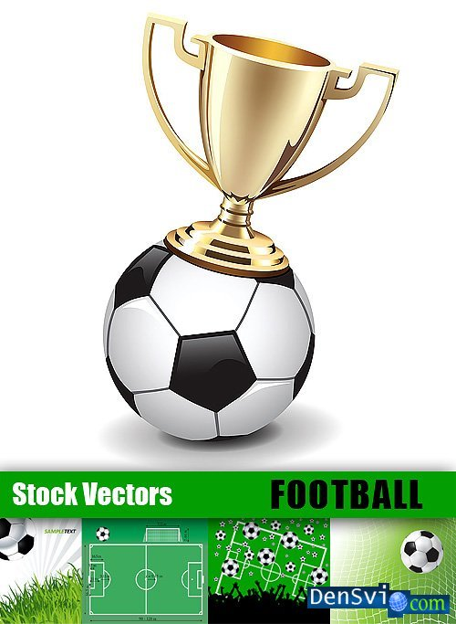 Vector Clipart from Stock  - Football