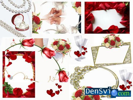 Wedding Photoframes - Wedding in Red part 1