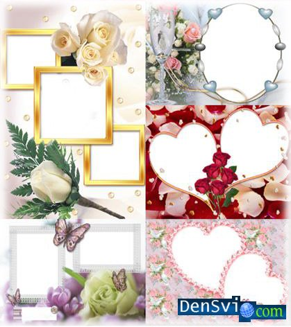 Wedding Photoframes Set