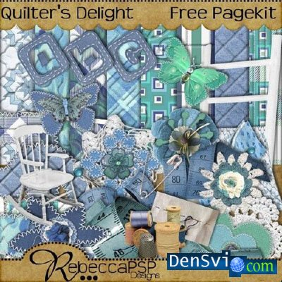 Скрап набор -  Quilters Delight