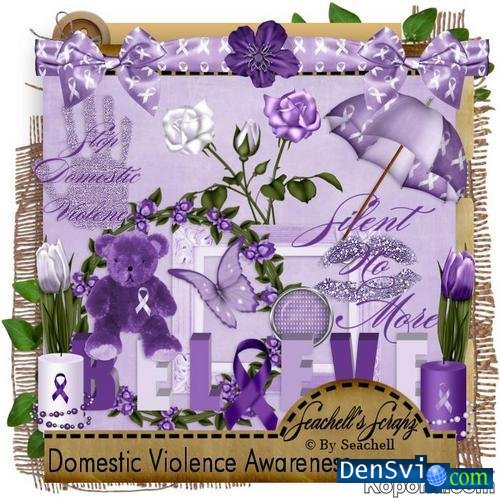 Skrap-set - Domestic Violence Awareness