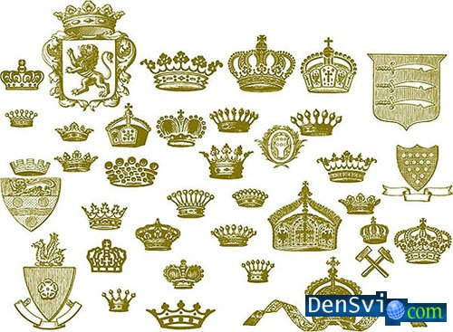 Beauty Royal Equipment Vector