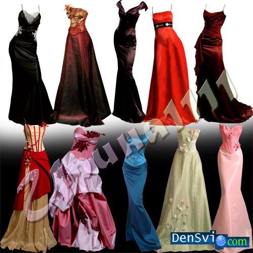 Для фотомонтажа вечерние платья