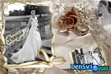 Рамки для фотошопа свадебные рамки