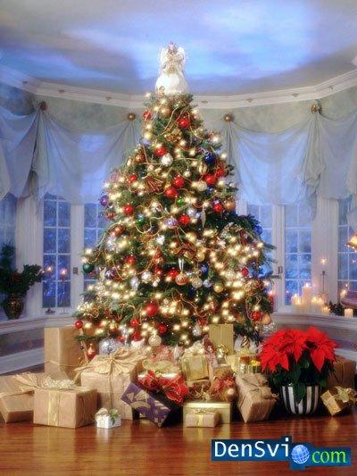 Photoshop новогодние подарки подарки