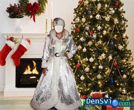Новогодний костюм для фотошопа