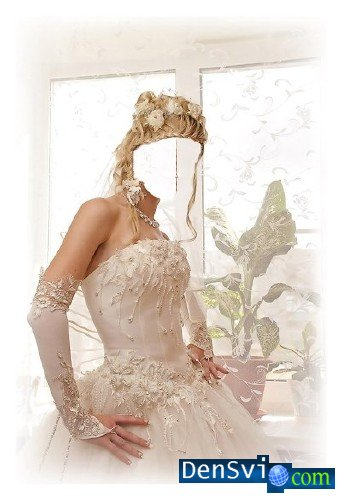 Шаблон для photoshop – невеста gt gt