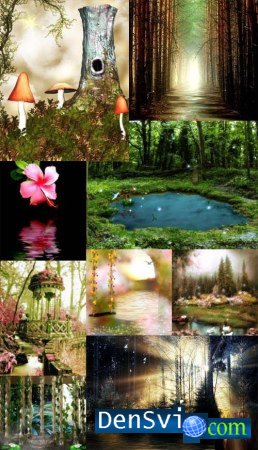 ���������, ����������� ����  - Fantasy backgrounds