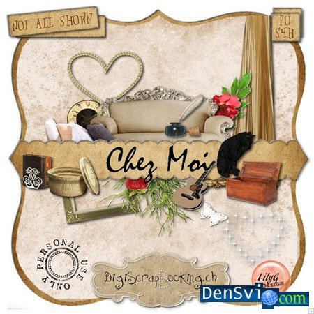 ����� - ����� chez moi by  lilyg design