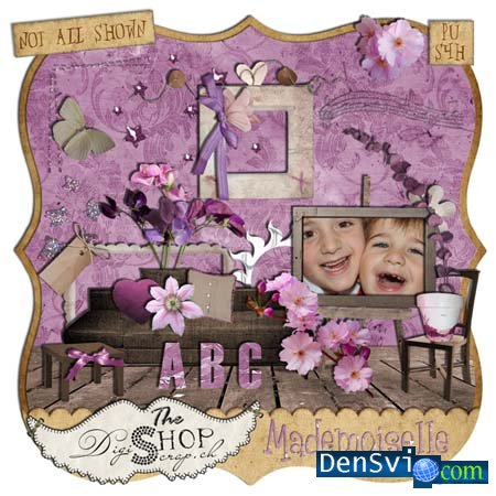����� - ����� Mademoiselle By Digiscrap.ch