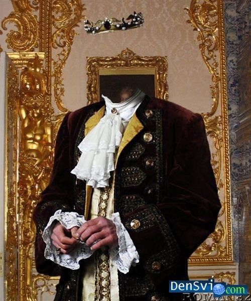 фотошаблоны мужские исторические рукава, распущенные