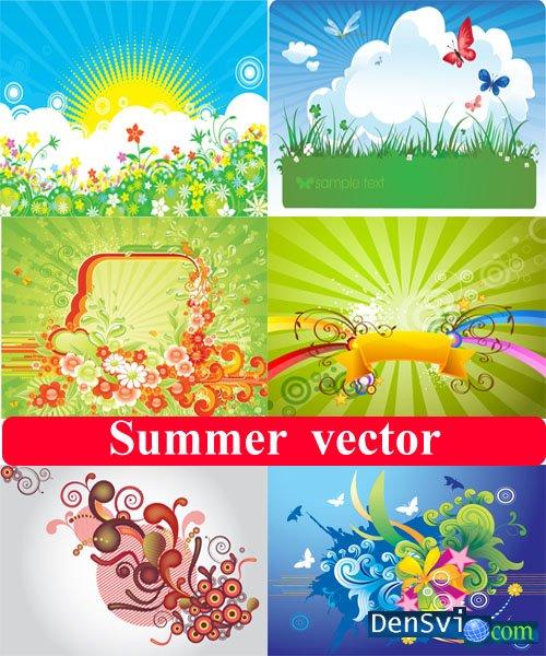 Векторный клипарт лето