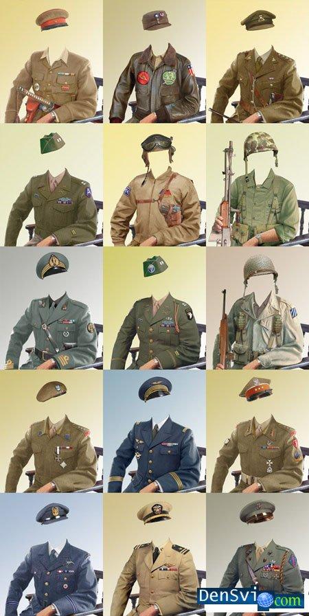 Как сделать себя в военной форме 790