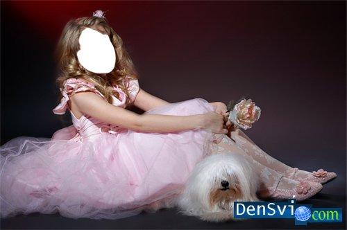 Детский шаблон для фотошопа костюм
