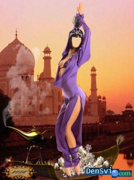 Клеан: пример костюма восточной красавице