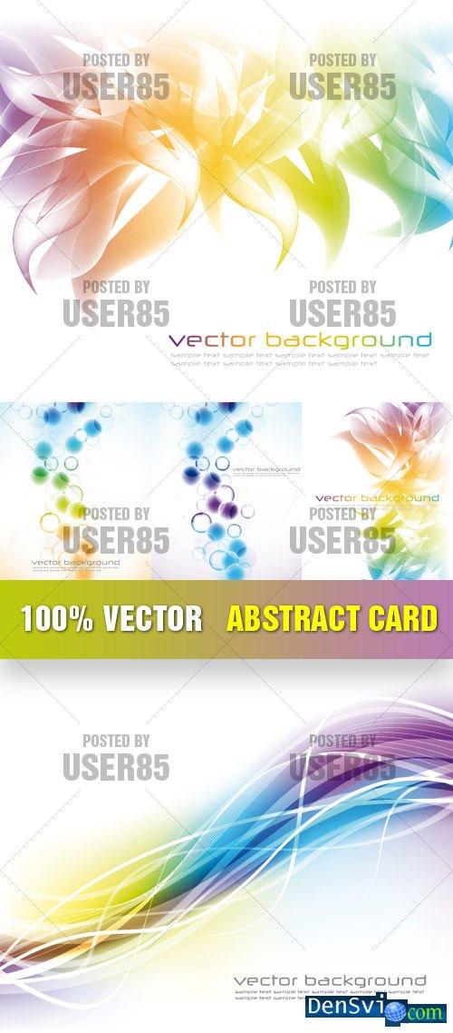 Абстрактные векторные фоны векторная