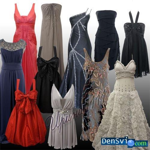 Костюмы для фотошопа вечерние платья