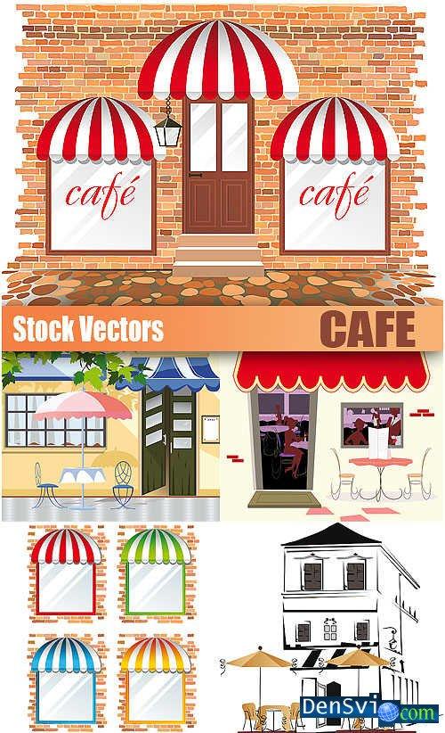 Векторный клипарт - Кафе - Cafe » Всё для ...: densvi.com/9162-vektornyj-klipart-kafe-cafe.html