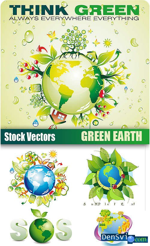 Stock Vectors - Green Earth