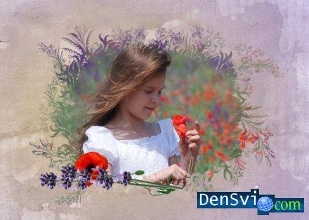 Уникальные маски для Фотошопа - Цветы и Бабочки