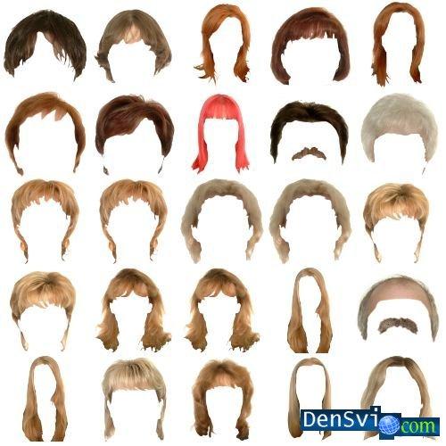 шаблоны для фотошопа прически бороды