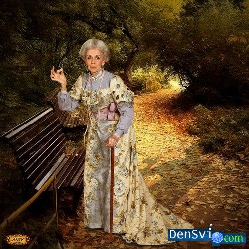 Шаблон для фотошопа любимая бабушка