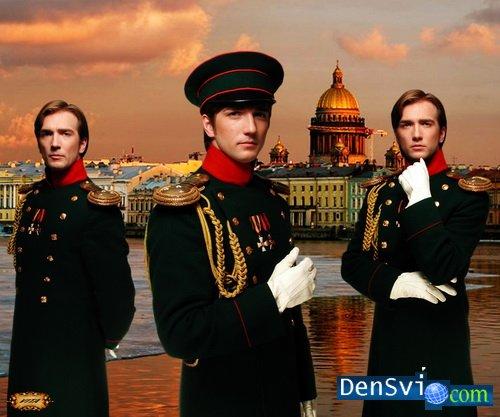 Мужские костюмы фотошоп русские