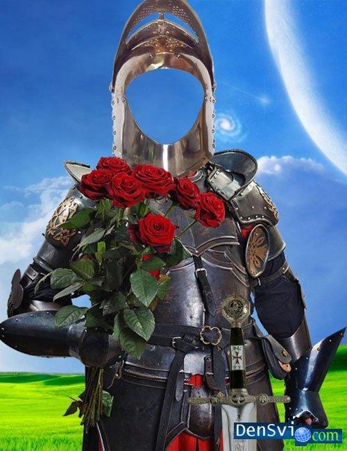 Костюм для фотошопа рыцарь с