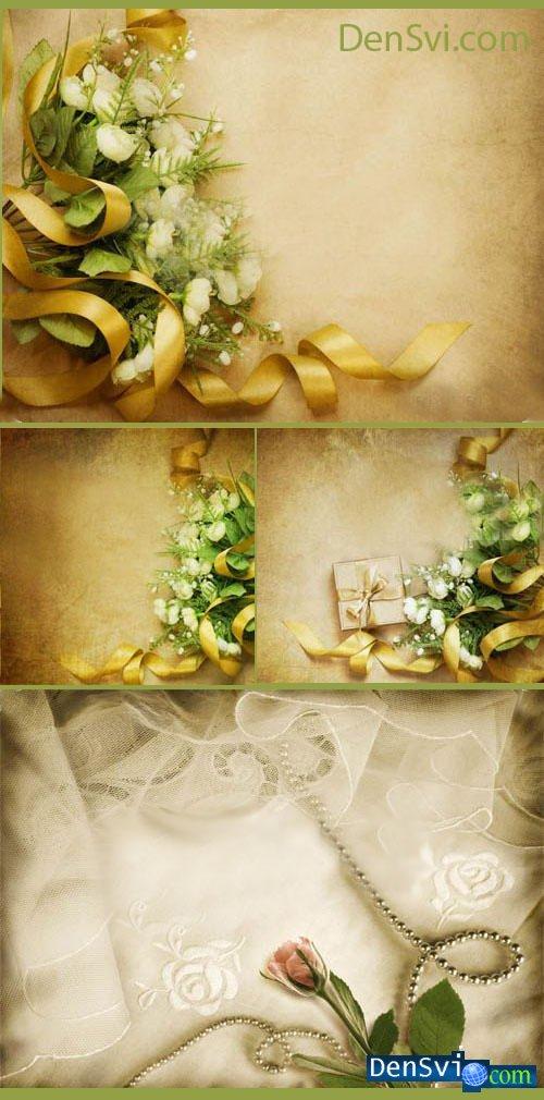 Роскошные винтажные фоны для Фотошопа - Ностальгия Винтажная бумага...