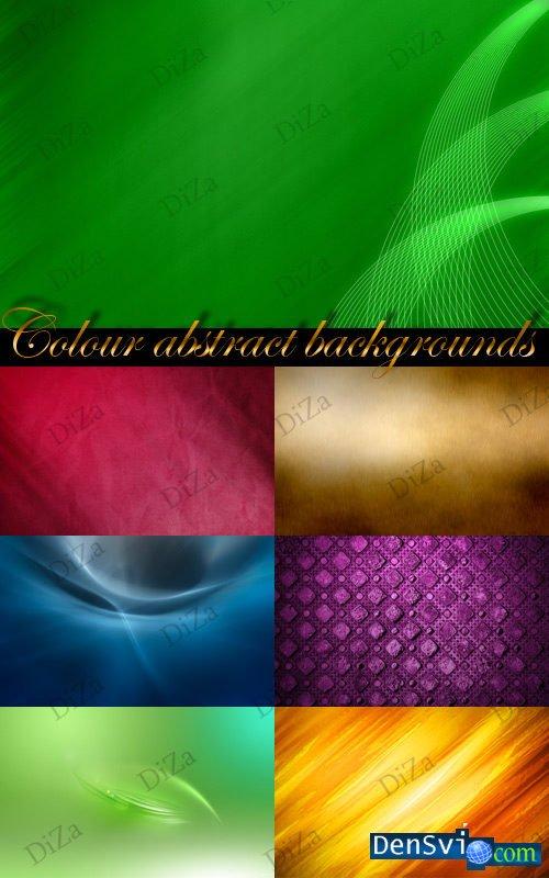Цветные абстрактные фоны фотошоп