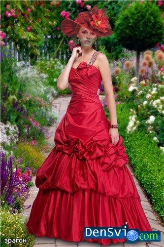 Авторский костюм для фотошоп женский