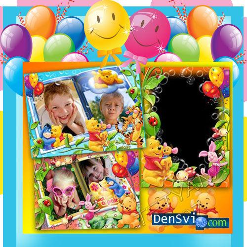 Детские рамки фотошопа просто
