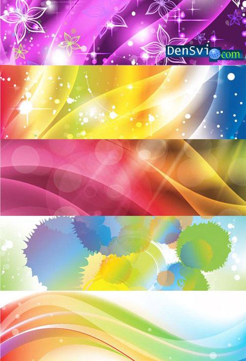 Фоны разнообразная яркая абстракция